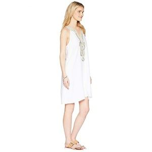 Lilly Pulitzer Valli Soft Shift Resort White Dress